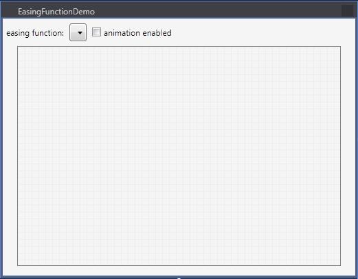 Easing Function Demo Design Window